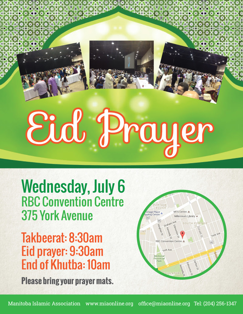 Eid Prayer - MIA online