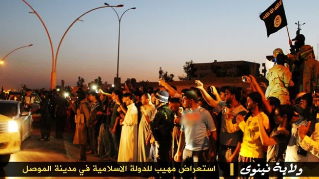 Warga Mosul Menyambut Gembira Kehadiran IS