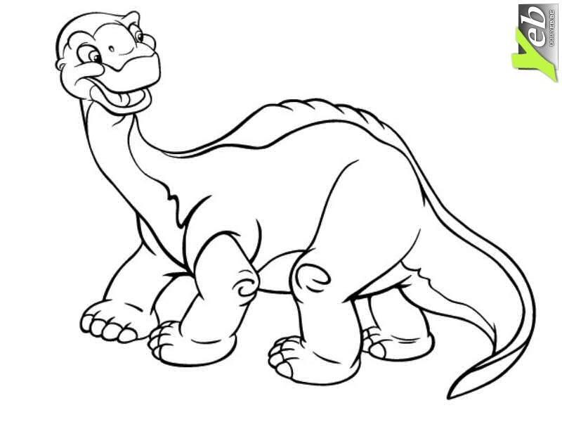 204 Dessins De Coloriage Dinosaure à Imprimer Sur Laguerchecom Page 8