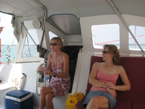 Enjoying the sailing