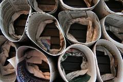 empty paper pots