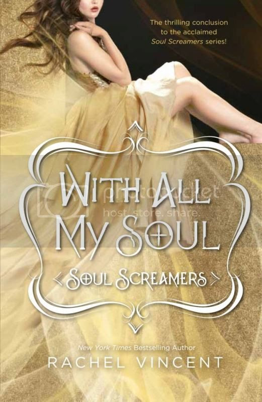 With All My Soul by Rachel Vincent US cover