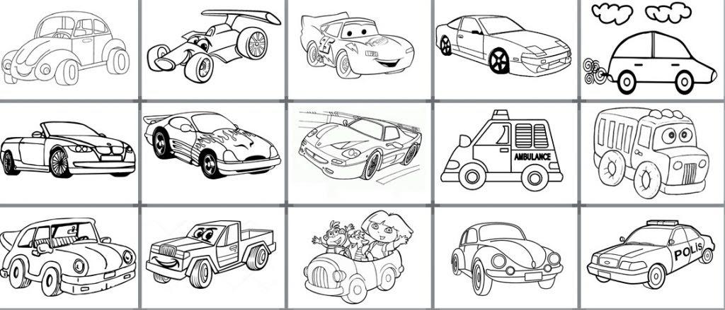 Araba Boyama Sayfaları Okul Etkinlikleri Eğitime Yeni Bir Bakış
