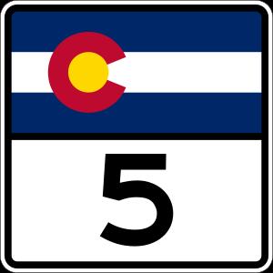 Colorado Route Marker