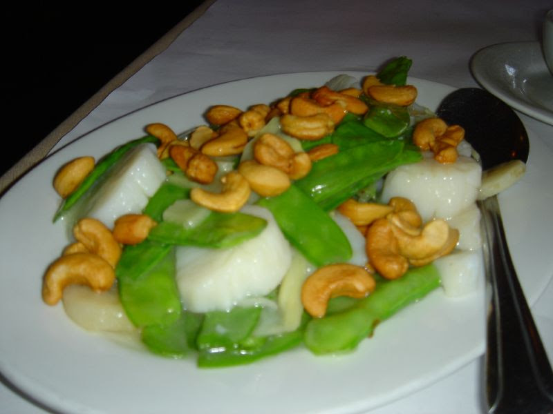 Scallops & Cashews