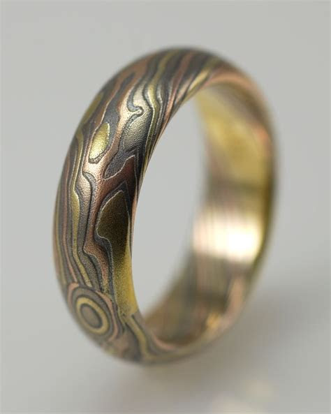 1000  images about Mokume Gane jewelry on Pinterest
