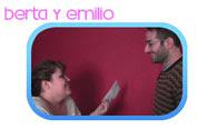 Berta y Emilio en Punto de Partida