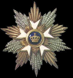 Grand Cross, Order of the Crown