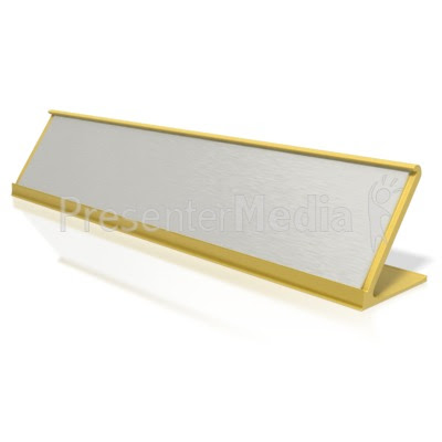 Blank Identification Name Plate - Signs and Symbols - Great ...