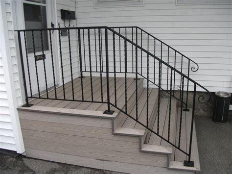 iron railings  stairs exterior wrought iron railing