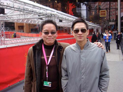 With Hong Kong actor Nick Cheung