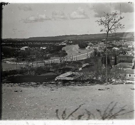 Vega Baja desde el Paseo de Recaredo en los años 20. Fotografía de Ángel del Campo Cerdán
