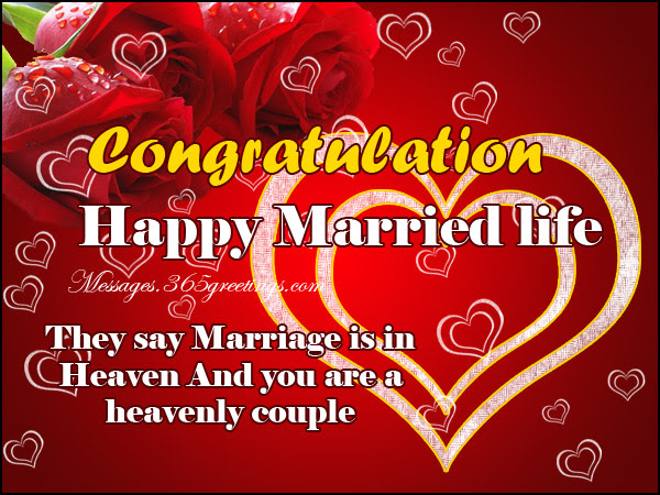 Happy Wedding Messages