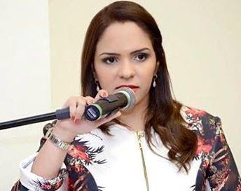 Luana foi afastada com voto de oito vereadores Foto: Costa Branca News
