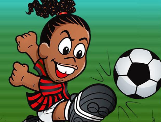 desenho animado ronaldinho gaúcho (Foto: Divulgação)