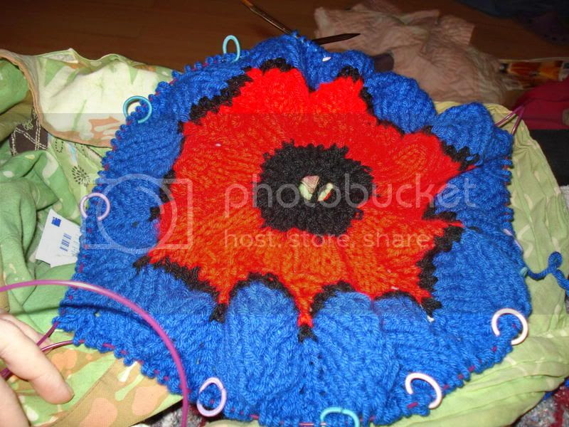 spiderman, knitted, blanket, afghan