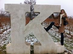 Kristina on the K