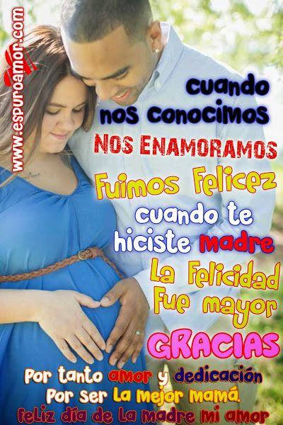 Tarjeta De Dia De La Madre Para Tu Esposa Con Frases De Amor Para