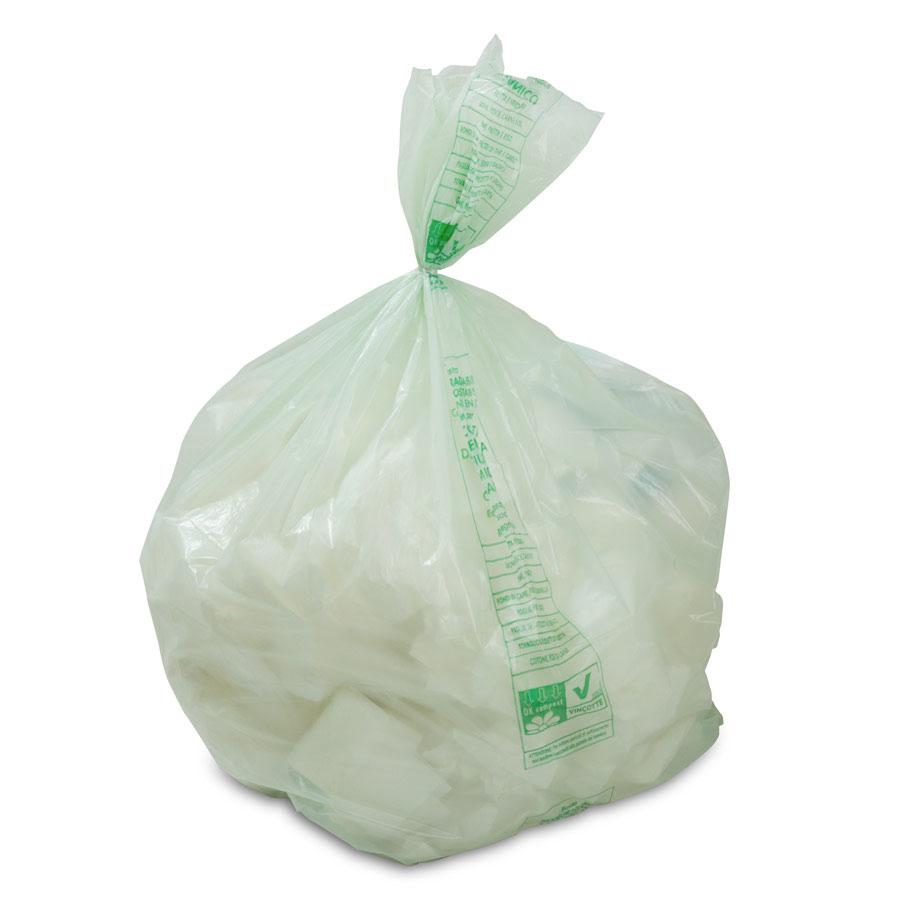 Sacchetti Biodegradabili Umido 45+21x20 Conf. 25 pz