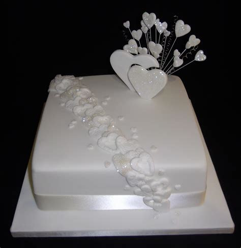 single layer wedding cake   Google Search(This is our cake
