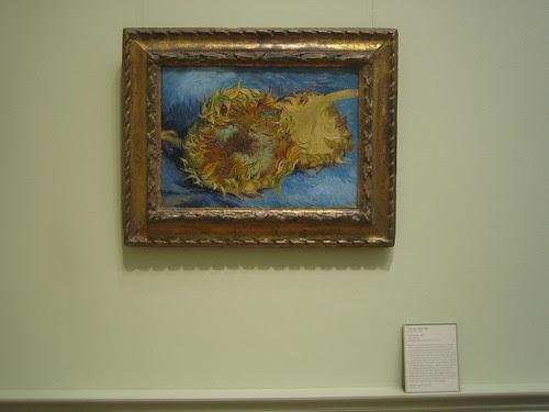 Sunflowers, 1887, Vincent van Gogh_8388