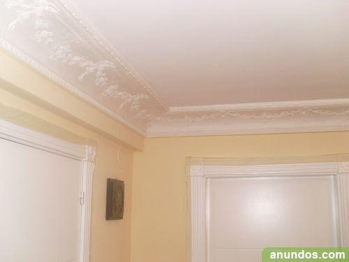 Dormitorio muebles modernos decoracion de escayola en techos - Decoracion de escayola ...