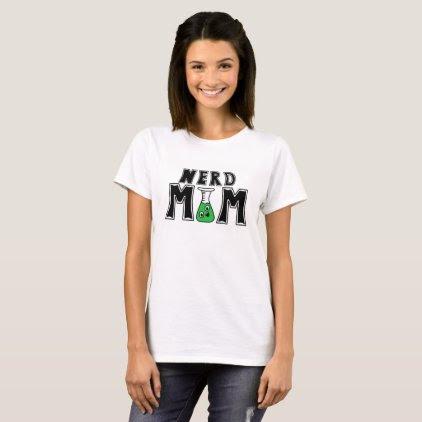 Nerd Mom Bold Print T-shirt