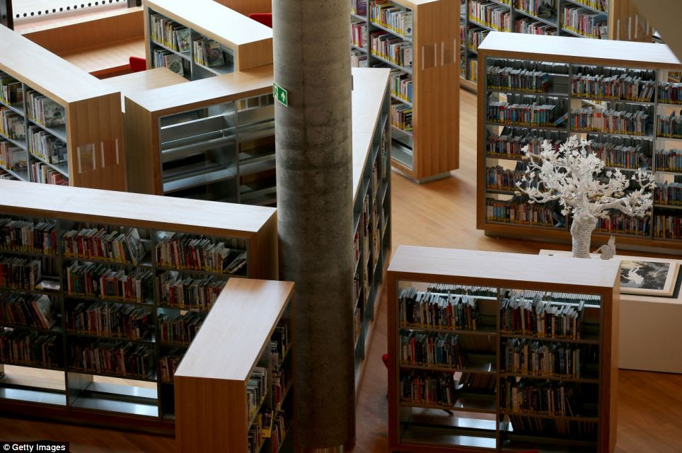 Books: In April, JRR Tolkein's The Hobbit became the first book to be placed on the shelves of the library to mark its handover from construction partner Carillion to Birmingham City Council