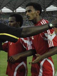 Red Sea footballers