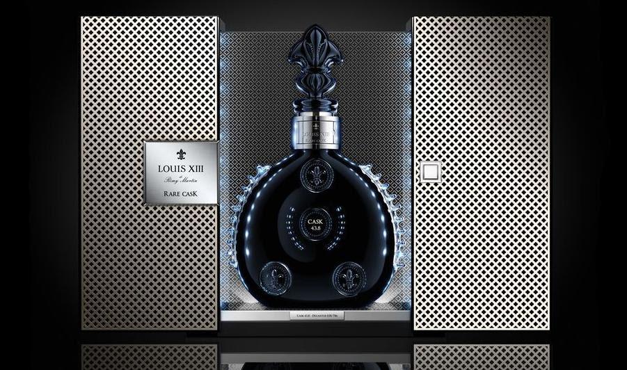 Packaging Of A $20,000 Bottle Of Cognac