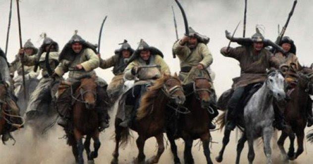 Image result for mongol hordes on horseback