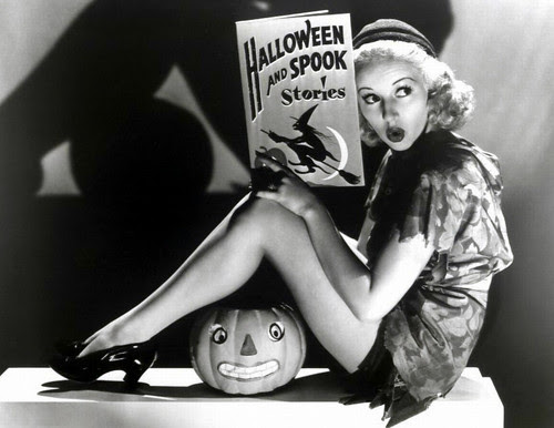 Betty Grable Halloween!