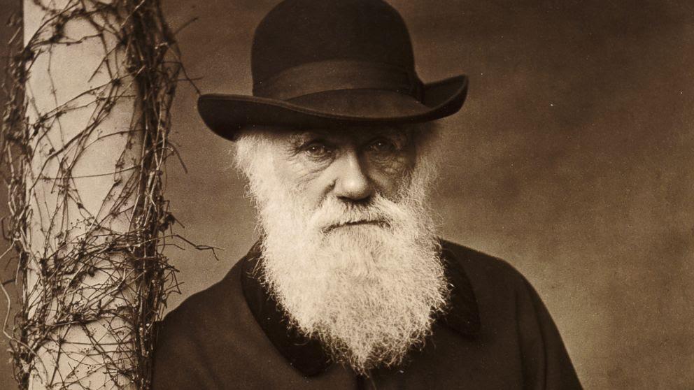 PHOTO: Charles Darwin at his home at Down House, Kent, 1880.