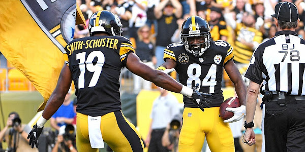 Antonio Brown to be replaced by JuJu Smith-Schuster in Pro Bowl d36229fd0