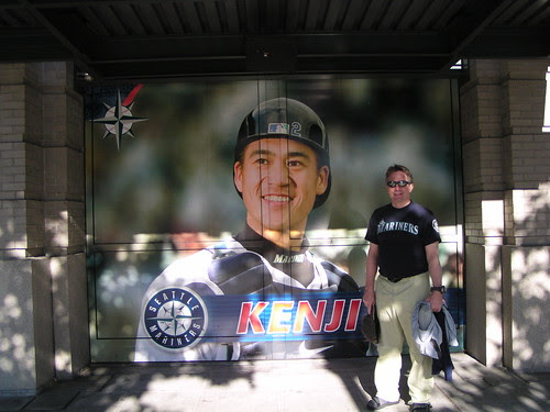 Kenji & pab @ Safeco Field