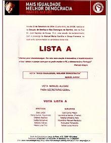 Lista A