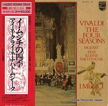 I MUSICI vivaldi; the four seasons