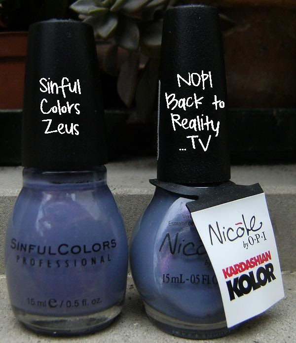 Sinful Colors Zeus vs NOPI Back to Reality… TV