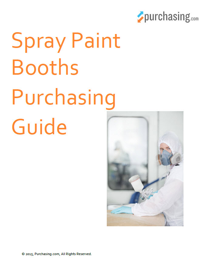 Spray Paint Booth Purchasing Guide - Purchasing