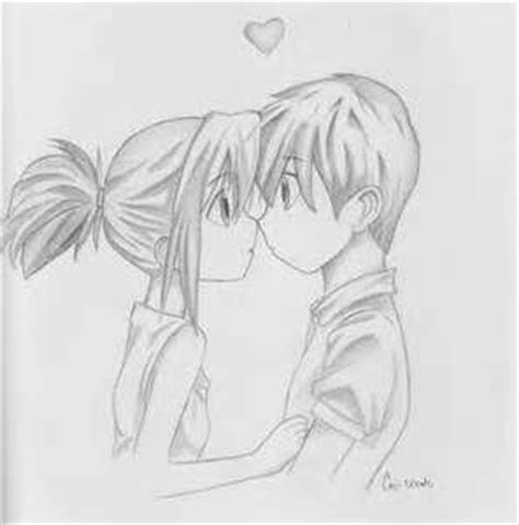 images  cute couple drawing  pinterest