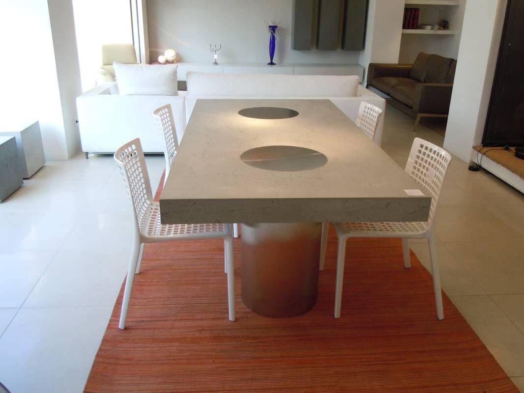 Esstisch Mit Betonplatte   Badezimmer, Schlafzimmer, Sessel & Möbel Design Ideen