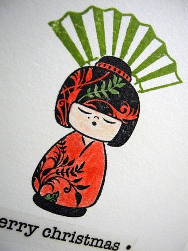 Kokeshi Christmas
