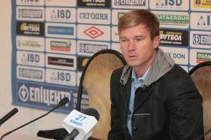Юрий Максимов заявил, что подает в отставку с поста тренра Кривбаса