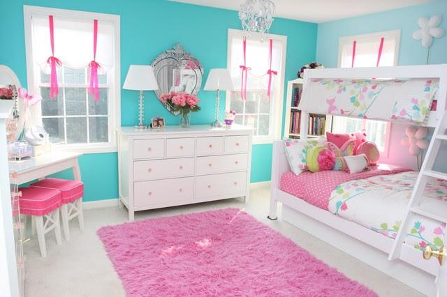 Girls Room Contemporary Kids boston