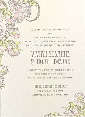 Etiquette 101: How to properly word your wedding invitations!