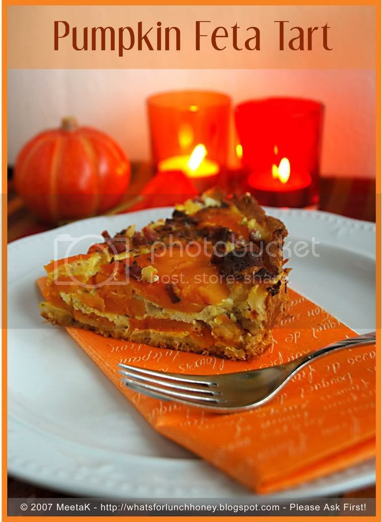 Pumpkin Feta Tart (01) by MeetaK
