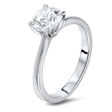 1.24 carat solitaire diamond ring   Diamondland