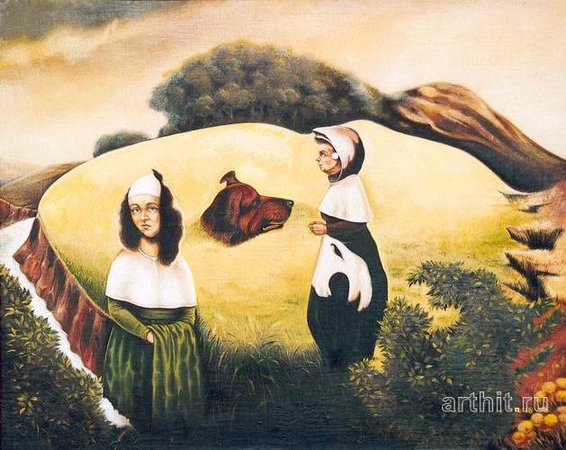 Oscar Wilde`s Homeland Igor Lysenko Surrealism Original paintings