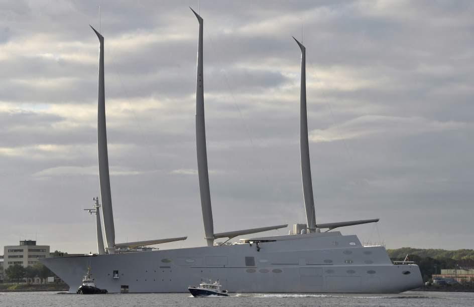 'White Pearl', un 'Titanic' de los yates