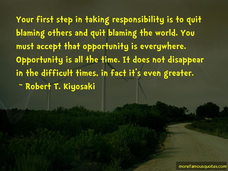 Quotes About Taking Responsibility And Not Blaming Others Top 2